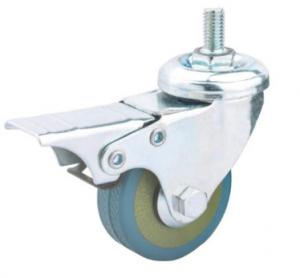 China threaded stem casters with brakes bolt casters for table tennis table 2in on sale