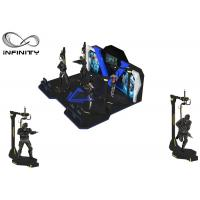 Quality INFINITY Theme Park Virtual Reality Walking Platform Interactive Games With 360 ° Rotation wholesale