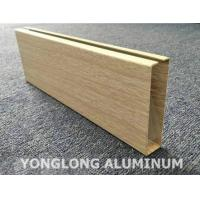 Cheap Custom Powder Coated Aluminium Extrusions Square Tube For Industrial Usage for sale