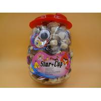 Quality Happy Cute Cup Chocolate Chips Cookies For Children / Kids Penguin Jar wholesale