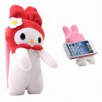 Quality Soft Toy PC Case for iPhone 5, Ideal as Christmas Gift wholesale