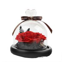 Quality Wedding Home Decorative Preserved Rose Gift Box With Long Saving Time wholesale