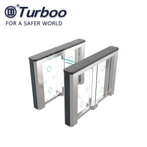 Quality Stainless Steel Access Control Swing Gate Turnstile For Office Building wholesale