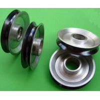 Quality Customized Copper Wire Drawing Aluminum Pulleys , Ceramic Coated wholesale