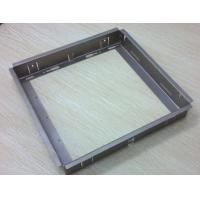 Cheap Small Sheet Metal Fabrication Services , Sheet Metal Bending Process For Railway for sale