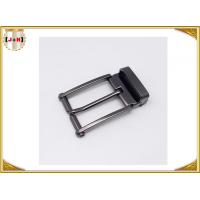 Quality Nickel-Free Zinc alloy Metal Belt Buckle / Center Bar Belt Buckle For Men wholesale