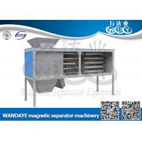 Quality Automatic Non Ferrous Metal separator , 5 Layer Magnetic Rod Cabinet For Dried-powder wholesale