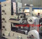 Quality High Precision Automatic Label Flexo Printing Machine 6 Color 380v 50Hz wholesale