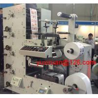 Quality High Precision Automatic Label Flexo Printing Machine 6 Color 380v 50Hz wholesale
