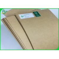 Quality Food Take Away Container 300gsm 350gsm Sheets Brown Cardboard For Packaging Box wholesale