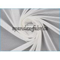 Buy cheap Plain Dyed White Power Mesh Fabric 84% Nylon 16% Spandex 20D/70D 75gsm from wholesalers