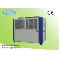 Quality Air Cooled Packaged Type Air Cooled Chilled Water System 65.1 - 116.0 M³/H Plate Corlor Chiller wholesale