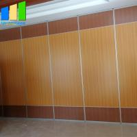 Plywood Sound Proof Partitions Board Folding Wood Sliding Door Movable Folding Doors Room Dividers