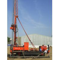 Quality Full Hydraulic Jet Grouting Drilling Rig vice winch and electrical control power head wholesale