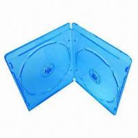 China 7mm Blu-ray DVD Case, Double in Blue Color, Made of Virgin PP on sale