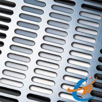Quality Slot Hole Perforated Metal, 2×20mm Hole Size With 0.8 to1.5mm Thickness wholesale