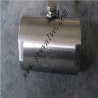 Quality Forged Steel 3 PC Threaded or Sw Ball Valve wholesale