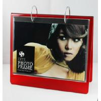 Quality red calender 6x8 acrylic photo frame wholesale