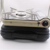 China Ultra-thin Stainless steel butane gas stove ZB-1with CE certification on sale