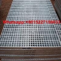 China Galvanized steel grating price on sale