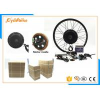 China 48v 1000w Electric Bike Kit , Electric Front Wheel Bike Conversion Kit on sale