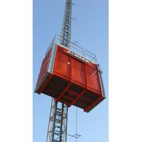Quality Electric Construction Hoist Elevator with Two Cages and Three-drive Rack-and-pinion for Building wholesale
