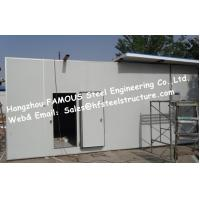 Quality Sandwich Panel Walk in Freezer For Meat , Walk in Cooler Refrigeration Unit wholesale