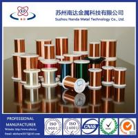China Enameled Copper Clad Aluminum Wire for magnet wire, QA/Uew/Polyurethane on sale
