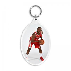 China Custom 3D Acrylic Key Rings with 3.7*5.7cm 3D Lenticular Printing Service For  Gifts on sale