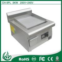 China Industrial Commercial induction griddle with 220v on sale