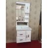 Buy cheap Luxury Hung PVC Bathroom Cabinet / Single Bowl Bathroom Vanities from wholesalers