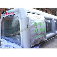 Cheap White Microwave Inflatable Paint Booth For Auto Paint Dryer , CE Approved for sale