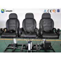 Quality Indoor Entertainment 5D Theater System 6 - 12 Person With Metal Flat Screen wholesale