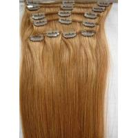 Quality 10# 20 Clip In Human Hair Straight Human Hair Weave For Personal Care wholesale