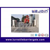 Quality Organic Speed Gate Retractable Flap Barrier Gate Stainless Steel Pedestrian Turnstiles wholesale