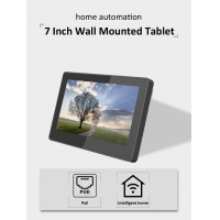 Quality 7 Inch Industrial No Battery Wall Recessed Android Touch Screen Integrated LED Light Tablet PC wholesale