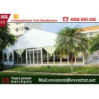 Quality Outdoor Big  A Frame Tent PVC Fabric With Hot Dip Galvanized Steel Parts wholesale