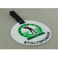 China Customized 3D Design Soft PVC Plastic Luggage Tags / Personalized Bag Tags on sale
