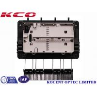 Quality FTTH Drop Cable Fiber Optic Splice Closure For 1x8 Splitter KCO-GJS08 3 inlet 3 outlet wholesale