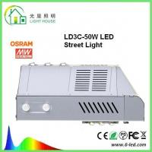 Quality IP65 Nichia High Power Led Street Light SMD3030 Chip 140 LM / W DLC FCC Certified wholesale