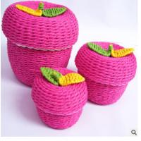 Quality Woven Paper rope storage box wholesale