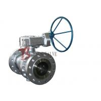 China Cast Steel Soft Seated Ball Valve , API 6D Side Entry Ball Valve 2 Inch - 36 Inch on sale