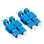 Quality SC male to LC female hybrid adaper, Duplex / Simplex SC to LC Fiber Optic Adapter,Singlemode/ Multimode,PC/APC type wholesale