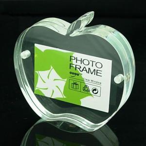Quality acrylic frameless photo frame wholesale