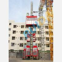 Quality OEM Single or Double Cage CH2000 Rack And Pinion Hoists Construction Material Lift Equipment wholesale
