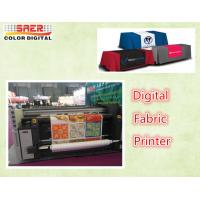 Quality 2.2m Double Vision Fabric printer , Automatic  Inkjet Fabric Printing Machine wholesale