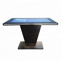 China 49 Inch Wifi Android Floor Stand Indoor Lcd Digital Advertising Display Monitor Coffee Table Display on sale
