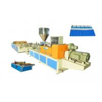 Quality Plastic sheet extrusion line for extruding PVC / PMMA and PVC / ASA composite glazed tile wholesale