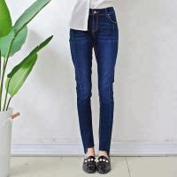 Quality Professional Blue Stretch Women Denim Skinny Jeans High Waisted Full Length wholesale