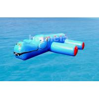 Quality 0.9mm (40oz) PVC Tarpaulin Inflatable Water Obstacle Course For Pool wholesale